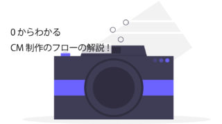 CM制作フローの解説サムネイル